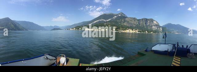 CADENABBIA village on Lake Como, Lombardy, Italy. Photo: Tony Gale - Stock-Bilder