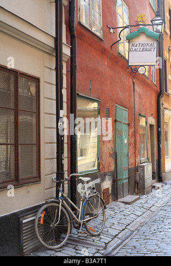 Gamla stan (Old Town), Stockholm, Sweden - Stock Image