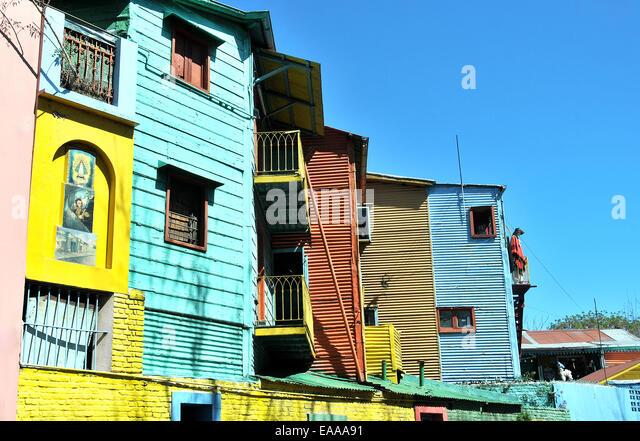 La Boca Buenos Aires Argentina - Stock Image
