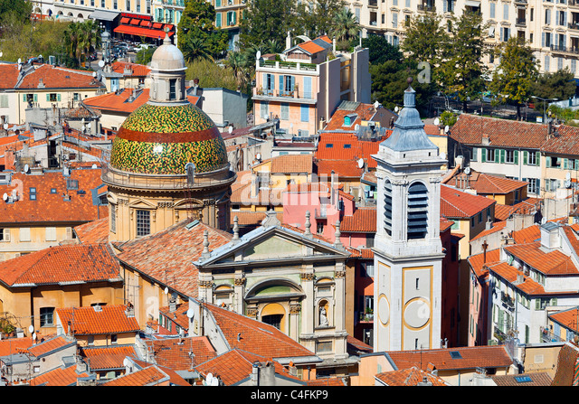 Europe, France, Alpes-Maritimes (06), Old Town of Nice, Cathedral Sainte Reparate - Stock Image