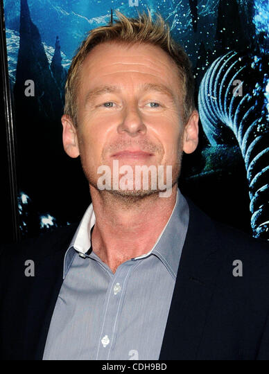 Jan. 31, 2011 - Los Angeles, California, U.S. - Richard Roxburgh Attending The World Premiere Of ''Sanctum'' - Stock Image