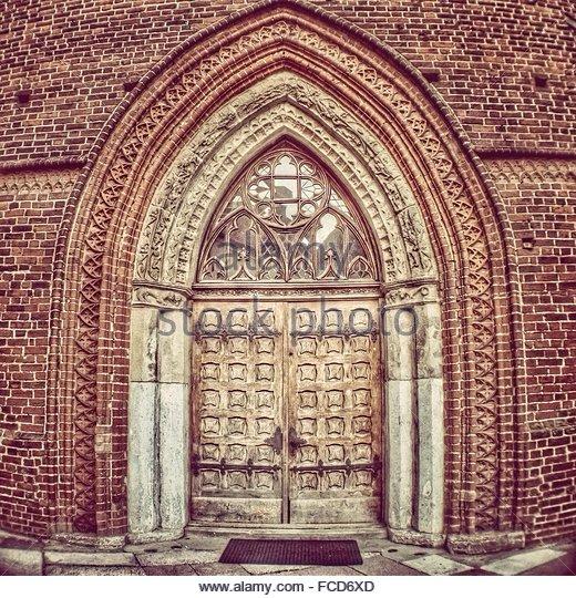 Ornate Door Of Historic Building - Stock-Bilder
