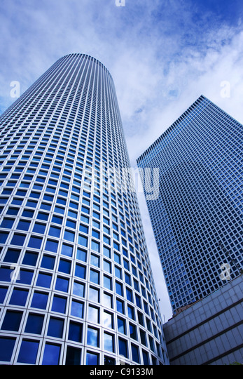 Azrieli Center Building Tel Aviv, Israel - Stock Image