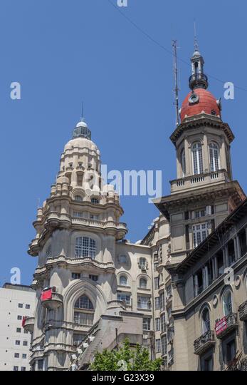Barolo Palace Building, Avenida de Mayo, Buenos Aires, Argentina - Stock Image