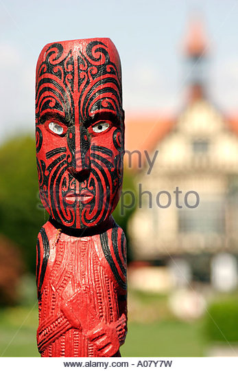 Rotorua, Museum Of Art And History - Stock Image