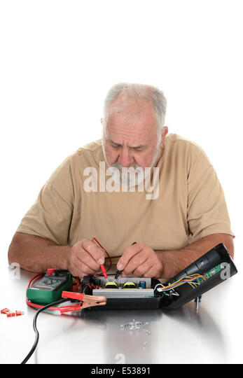 Hooking Up Voltmeter And Devices : Voltmeter stock photos images alamy