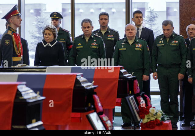 Moscow region, Russia. 16th January 2017. Russian Federation Council Chairperson Valentina Matvienko, Russia's - Stock Image