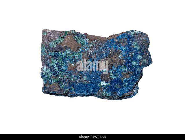Cornetite Mineral from Katanga Congo - Stock-Bilder