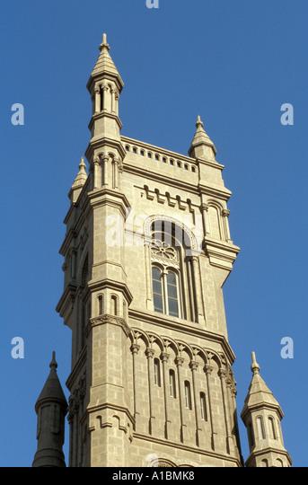 Philadelphia masonic temple - Stock Image