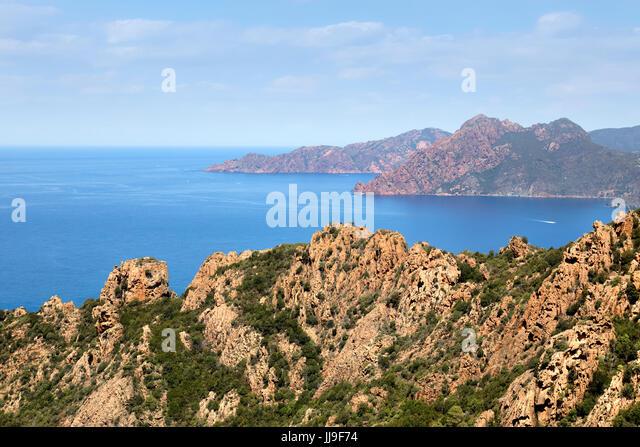 Calanques de Piana, Piana, Corsica, France - Stock-Bilder