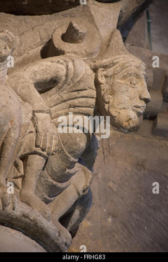 Capital Nogaro church Gers France - Stock Image