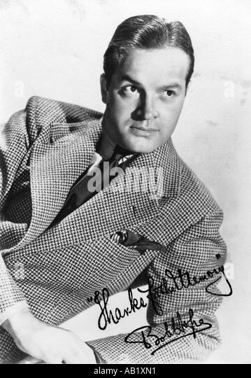 BOB HOPE US actor  and comedian in 1940s - Stock Image