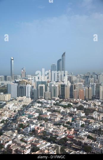 Abu Dhabi, United Arab Emirates, Middle East - Stock Image