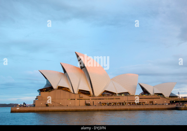 Australia NSW New South Wales Sydney Opera House roof - Stock Image