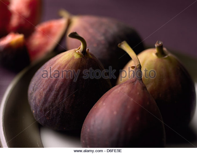 group of figs - Stock Image