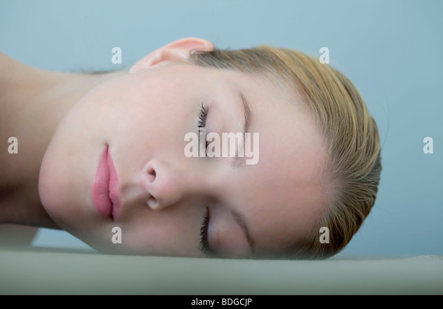 WOMAN FACE - Stock Image