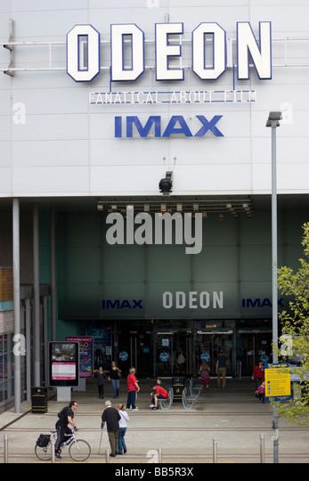 Odeon Imax cinema greenwich, London, UK - Stock Image