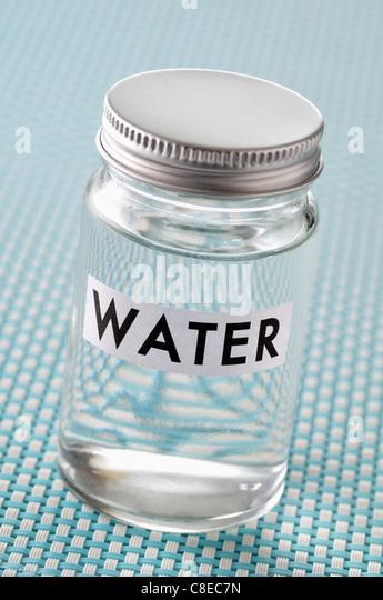 Water sample - Stock Image