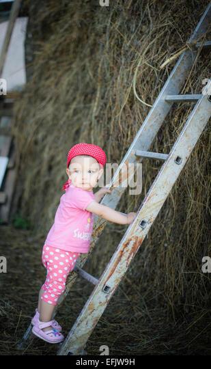 Little Kid Climbing Stock Photos Amp Little Kid Climbing