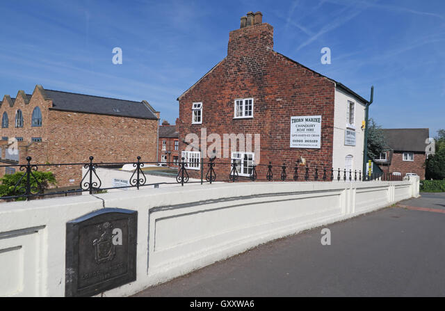 London Bridge,A49,Stockton Heath Village,Warrington,Cheshire,England - Stock Image