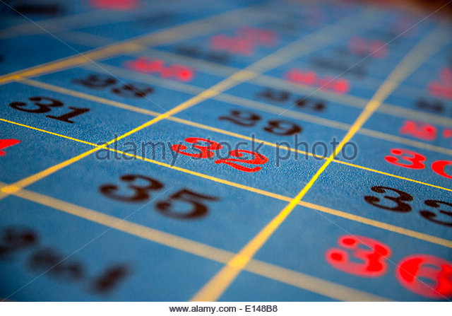 United Arab Emirates,  Dubai, Cruise ship Costa Fortuna, company from Italy. Gambling hall. Roulette - Stock Image