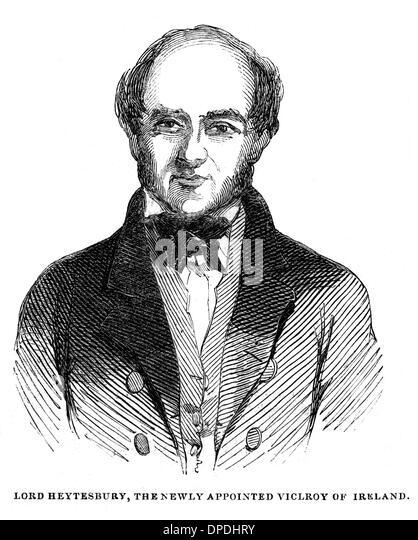 BARON HEYTESBURY - Stock Image