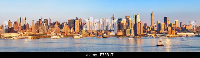 Panoramic view of Manhattan - Stock-Bilder