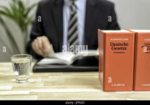 lawyer's office - Stock Image