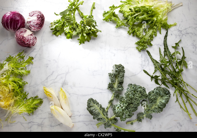 Leaf Vegetables - Stock Image