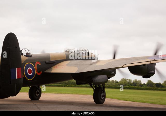 """East Kirkby Avro Lancaster """"Just Jane"""" - Stock Image"""