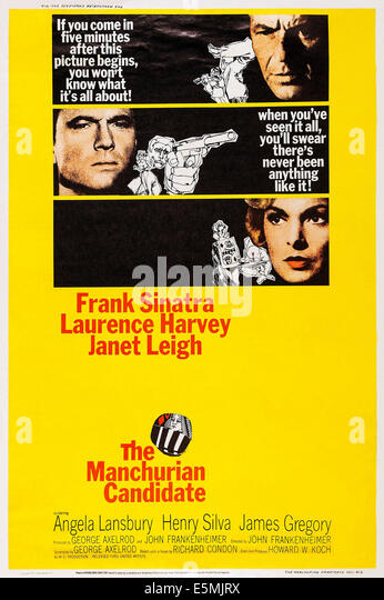 The manchurian candidate from top frank sinatra laurence harvey