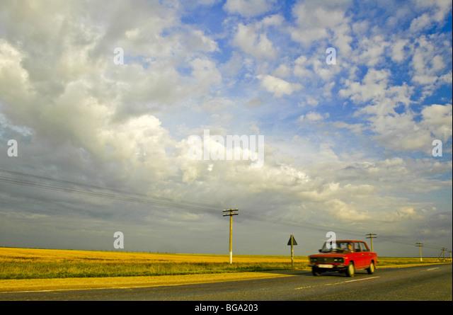 Crimea, near Stepne - Stock Image