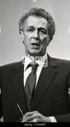 Keith Sinjohn Joseph, Baron Joseph, Bt, CH, PC (17 January 1918 – 10 December 1994), was a British barrister and - Stock Image