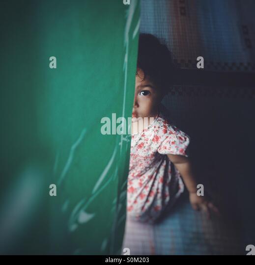 gadis melayu - Stock Image
