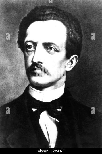 Ferdinand Lassalle (1925-1864), German socialist. - Stock Image