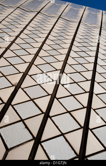 Sydney Opera House close up, UNESCO World Heritage Site, Sydney, New South Wales, Australia, Pacific - Stock Image