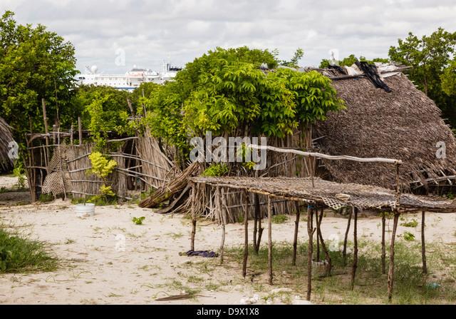 Africa, Mozambique, Ihla das Rolas. - Stock Image
