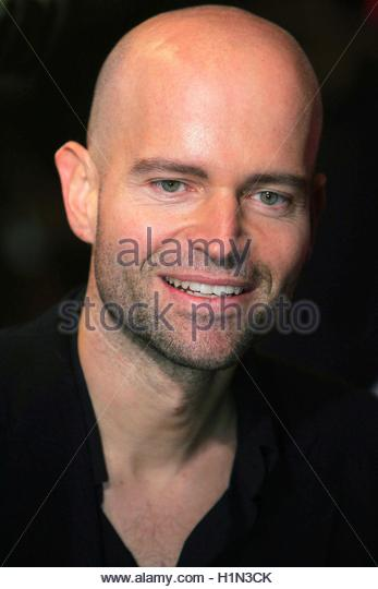 Director Marc Forster arrives for the U.K charity premiere of 'Finding Neverland' in central London, October - Stock Image