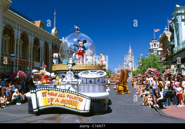 Disneyworld, Orlando, Florida, USA - Stock Image