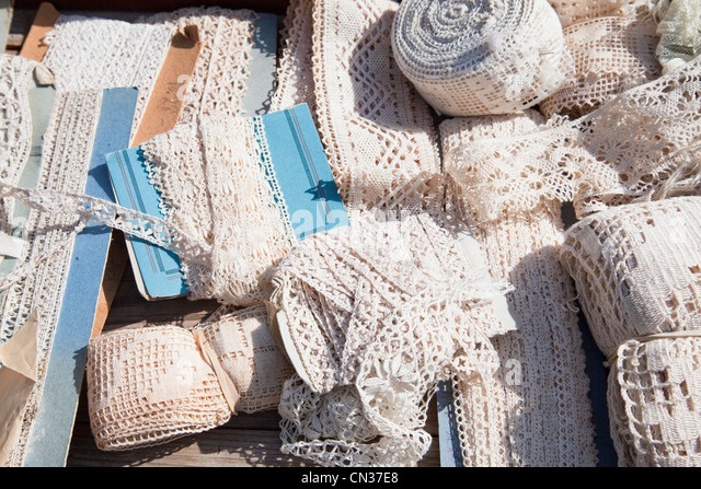 Lace selection - Stock Image