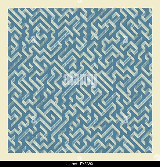 Maze. Vector Illustration Of Labyrinth. - Stock Image