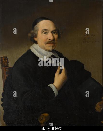 Portret van een man, waarschijnlijk Pieter Anthonisz van Bronckhorst (1588 1661) Rijksmuseum SK A 1615 - Stock Image