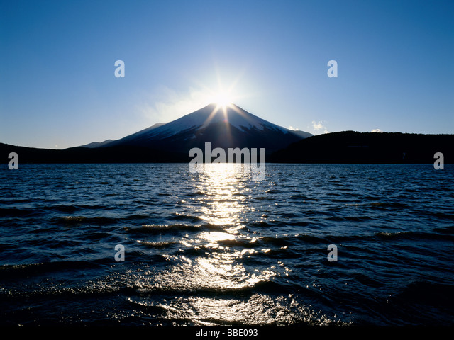 Diamond Fuji - Stock Image
