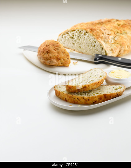 Courgette Yeast Bread - Stock Image