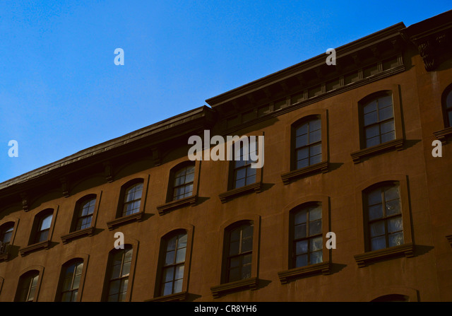 Brownstone stock photos brownstone stock images alamy for 2 montague terrace brooklyn heights