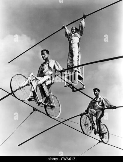 The Flying Wallendas, 1967.. Courtesy: CSU Archives / Everett Collection - Stock-Bilder