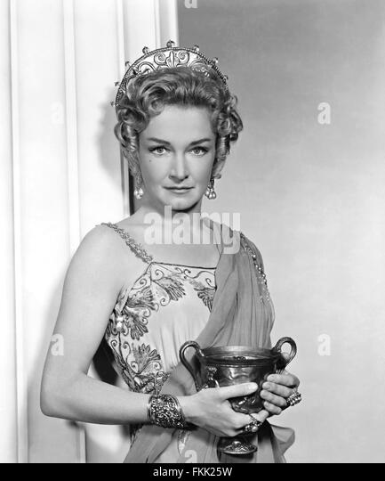 Portrait of Foch Nina in Spartacus - Stock Image