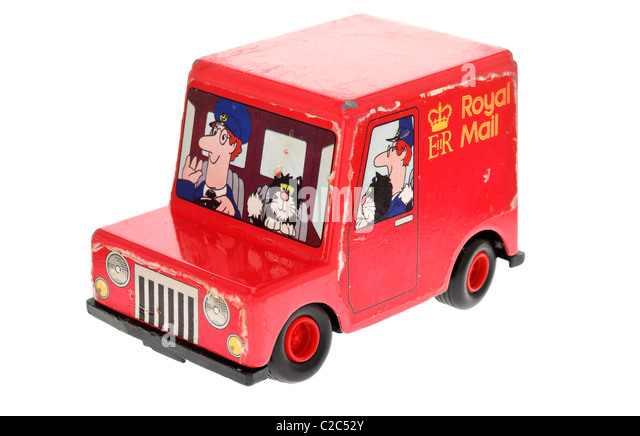 Postman Pat Toy Car - Stock Image