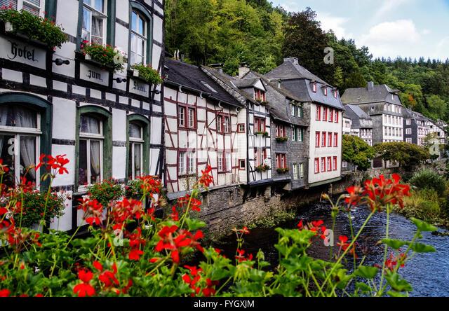 Monschau germany stock photos monschau germany stock for Hotels in eifel germany