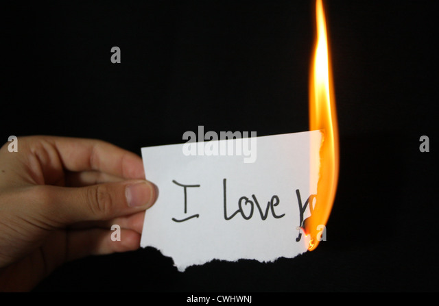 mourning,lovesickness,burning - Stock-Bilder